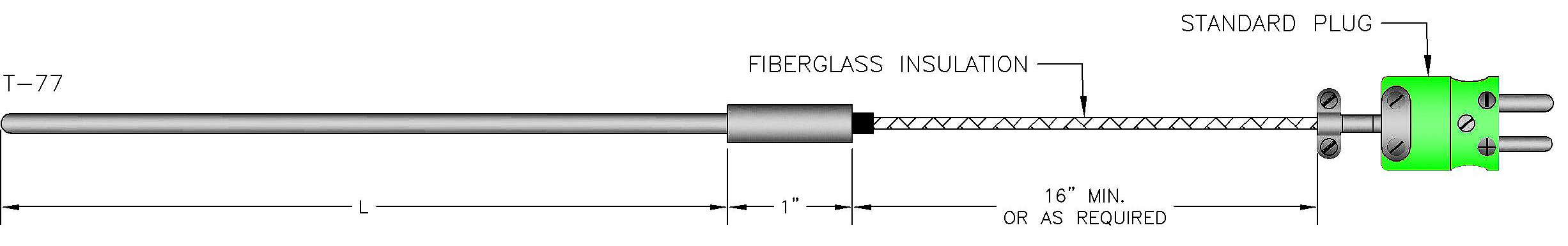 Metal Sheathed Cable Type Mi : High temperature thermocouple calibration types c b r s